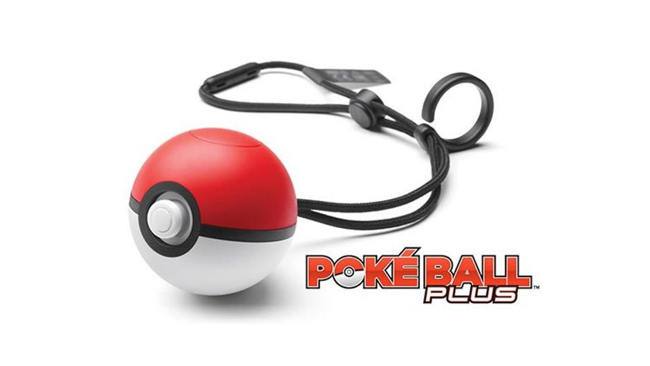 Poke Ball controller for Pokemon: Let's Go, Pikachu!