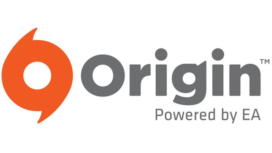 Picture of Origin's orange logo with gray letters on a white background
