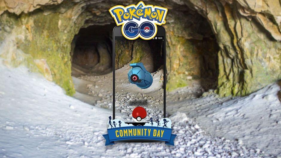 Poster for Niantic's Pokemon GO Community Day in October 2018
