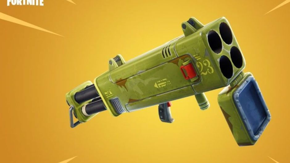 Fortnite's upcoming weapon called the quad launcher