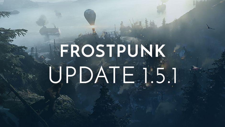 Frostpunk - Update 1.5.1 banner image