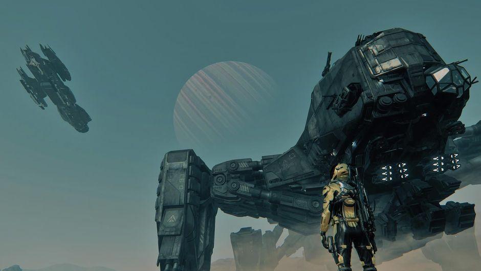 Screenshot from Cloud Imperium Games' space sim Star Citizen