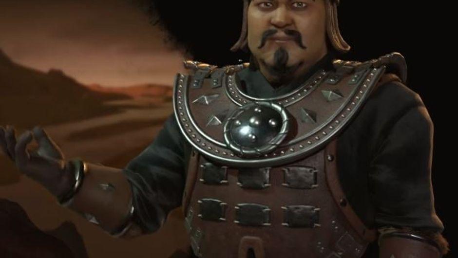 Mongolia's leader Ghenghis Khan
