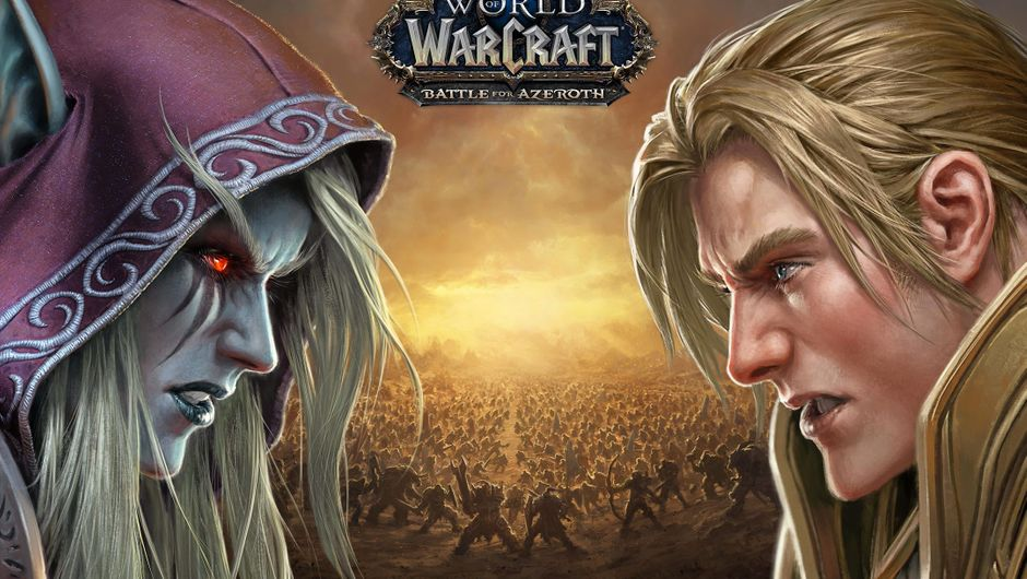 Poster for World of Warcraft's expansion Battle for Azeroth