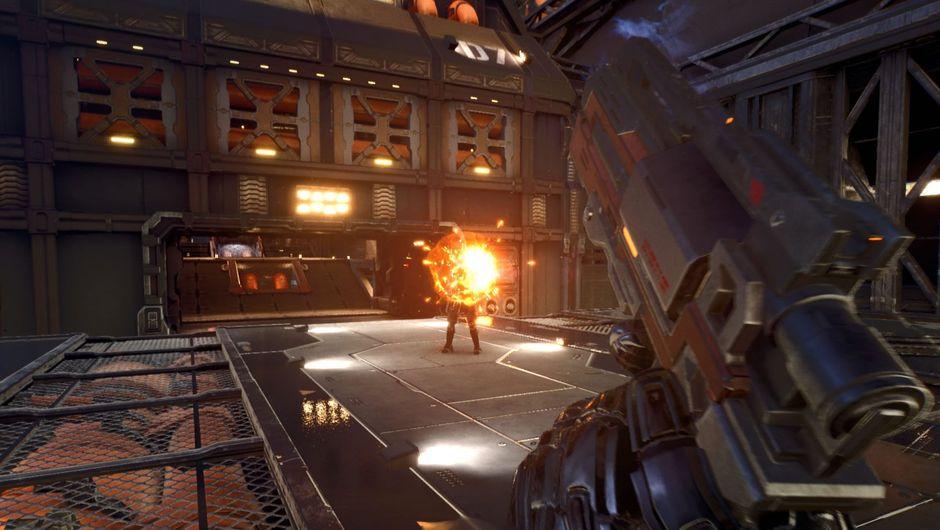 Screenshot from Project Nova, EVE Online based FPS