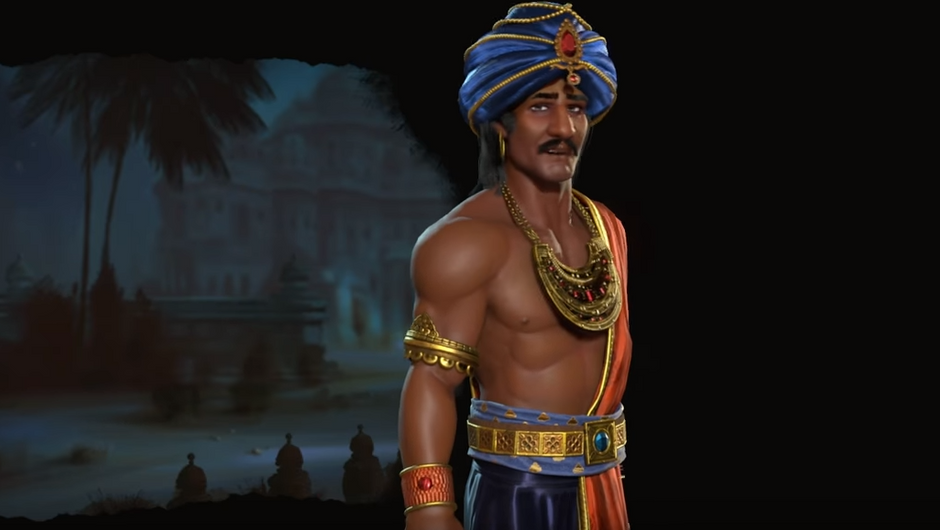 Chandragupta Maurya first look in Civilization VI: Rise and Fall