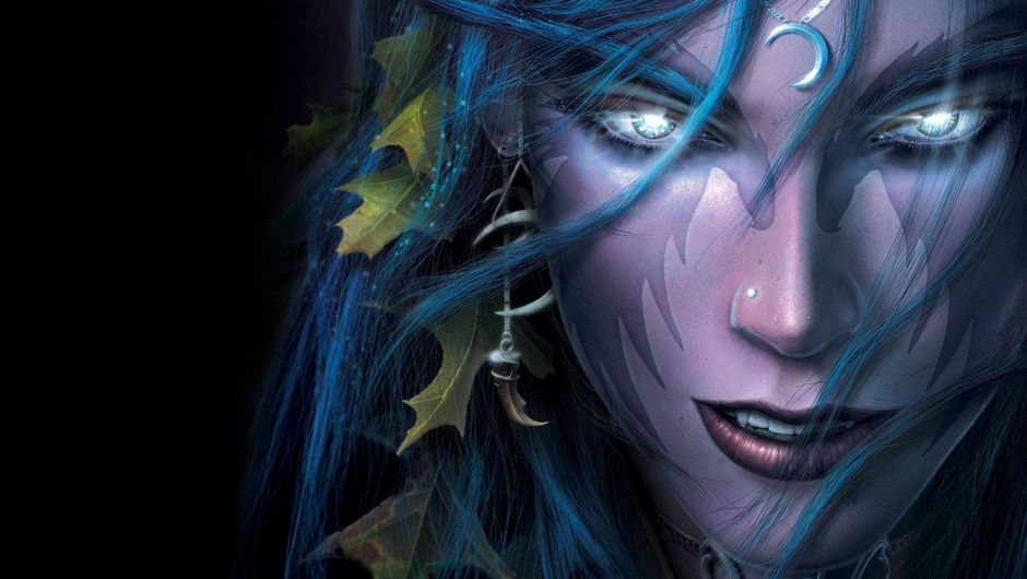 Picture of Tyrande Whisperwind from Warcraft series