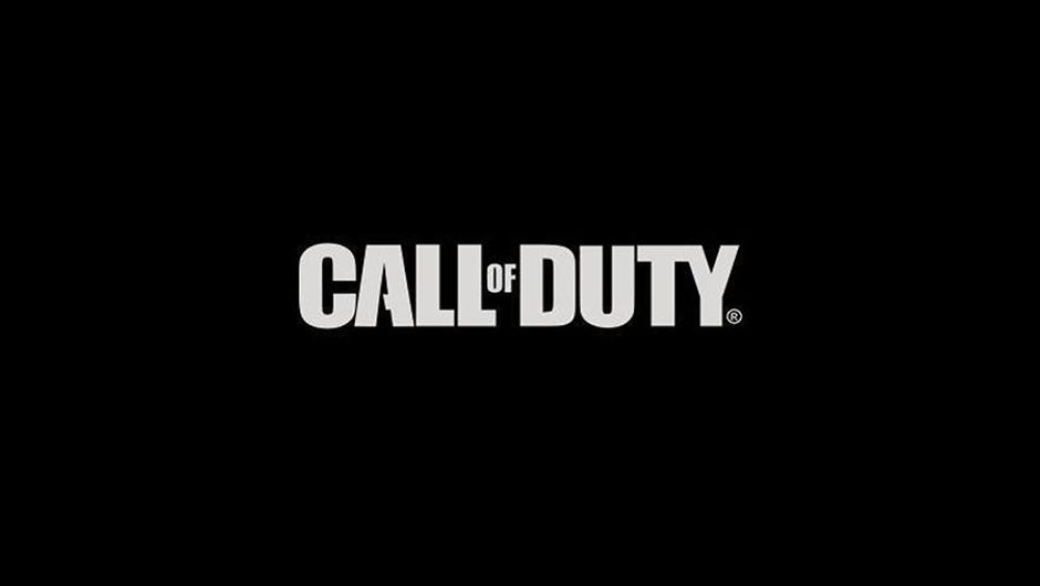 picture showing call of duty logo on black background