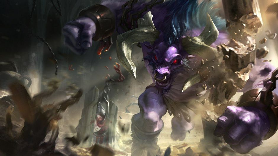 Picture of Alistar in League of Legends