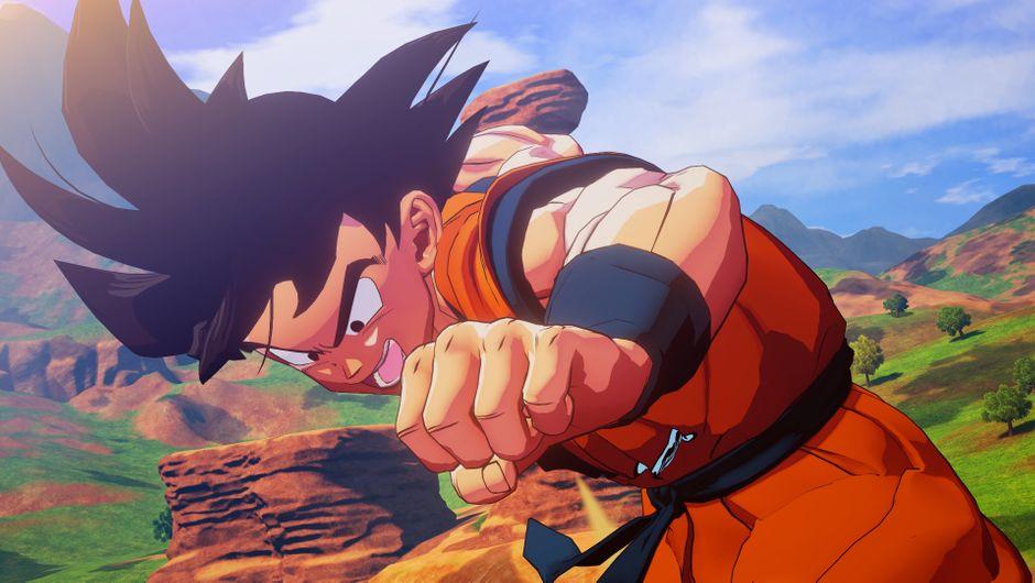 Goku from Dragon Ball Z: Kakarot