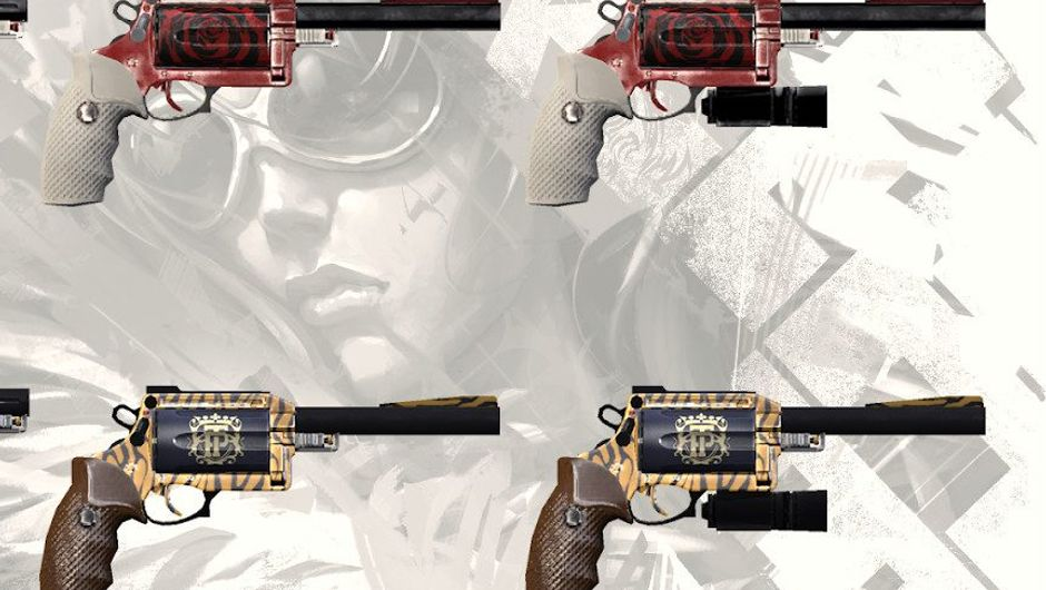 Picture of the Showstopper, a new revolver in APB: Reloaded