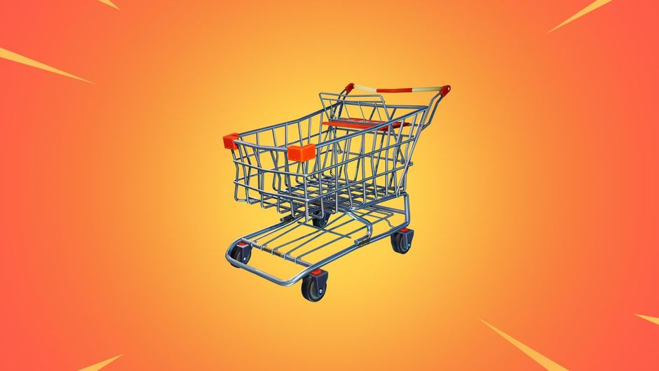 Fortnite: Battle Royale's new vehicle called the Shopping Cart