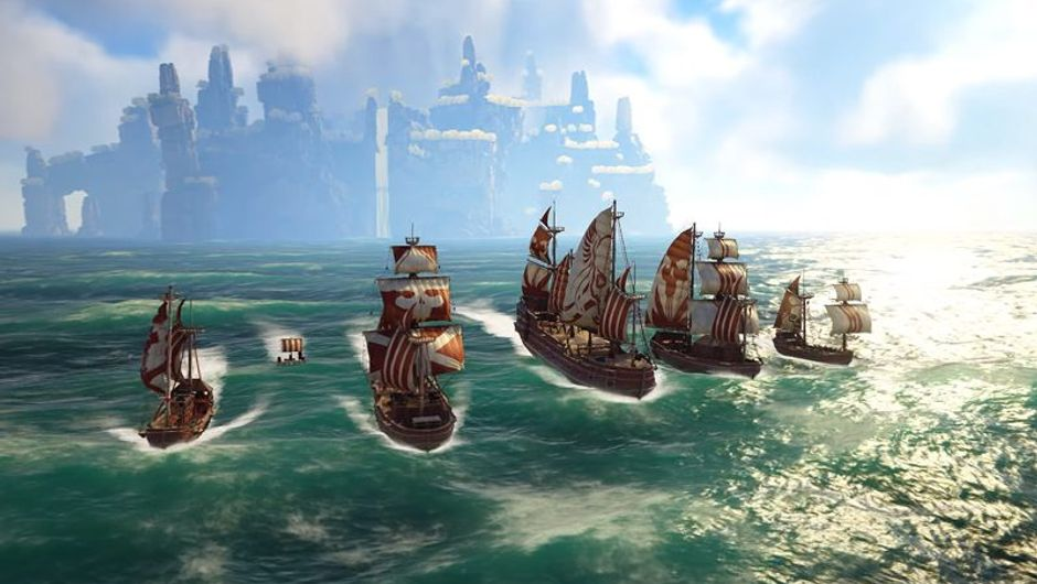 picture showing pirate ships