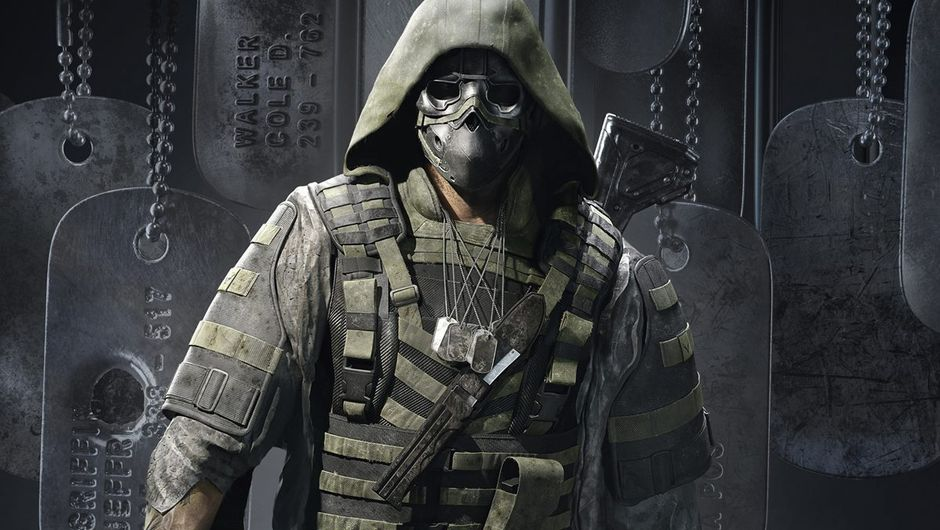 Ghost Recon: Breakpoint artwork showing a masked soldier