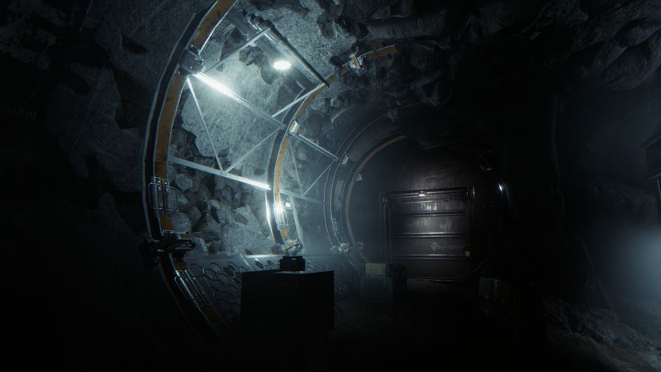 One of the many foreboding environments in GTFO