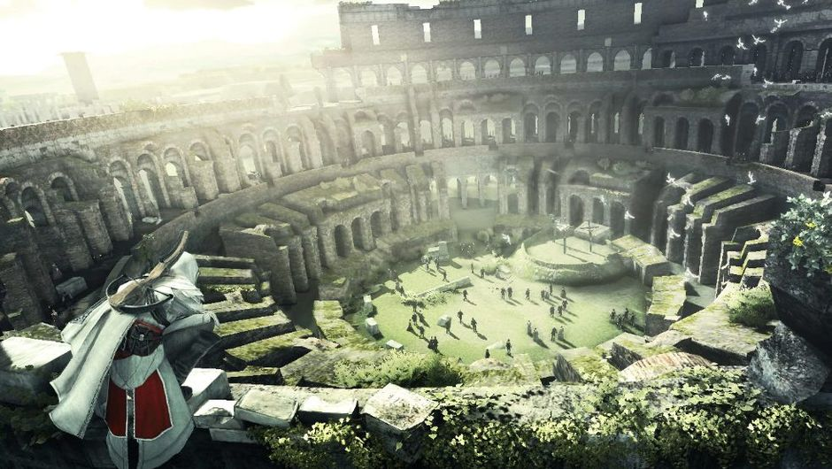 picture showing colosseum in rome