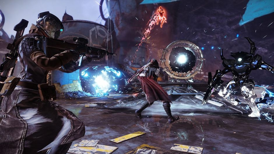 Destiny 2's new game mode Gambit sees teams of four Guardians go head-to-head amid PvE enemies