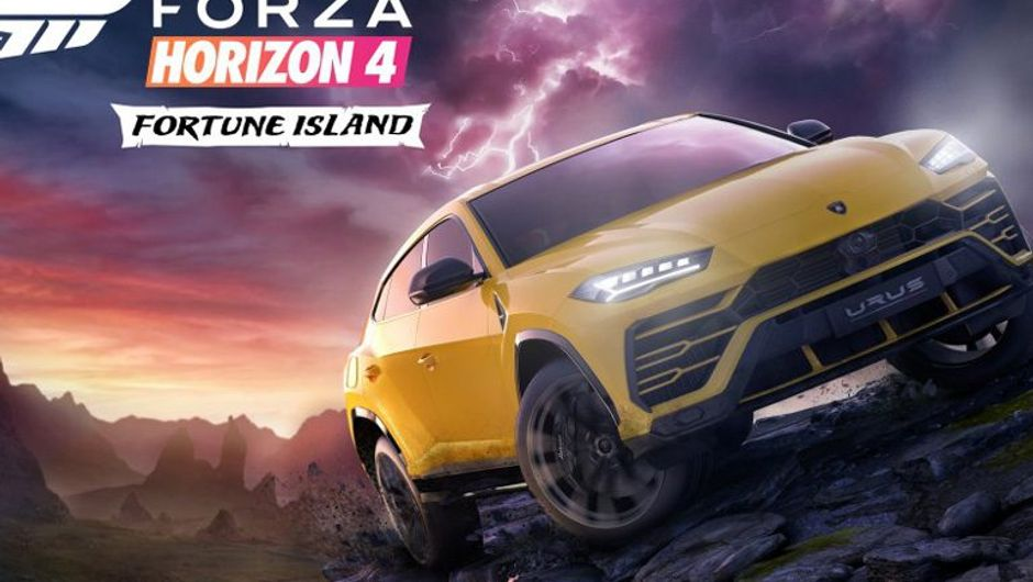 picture showing a yellow car in storm