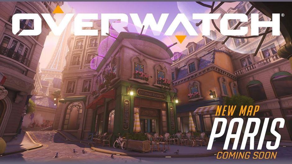 Overwatch's new assault map, Paris