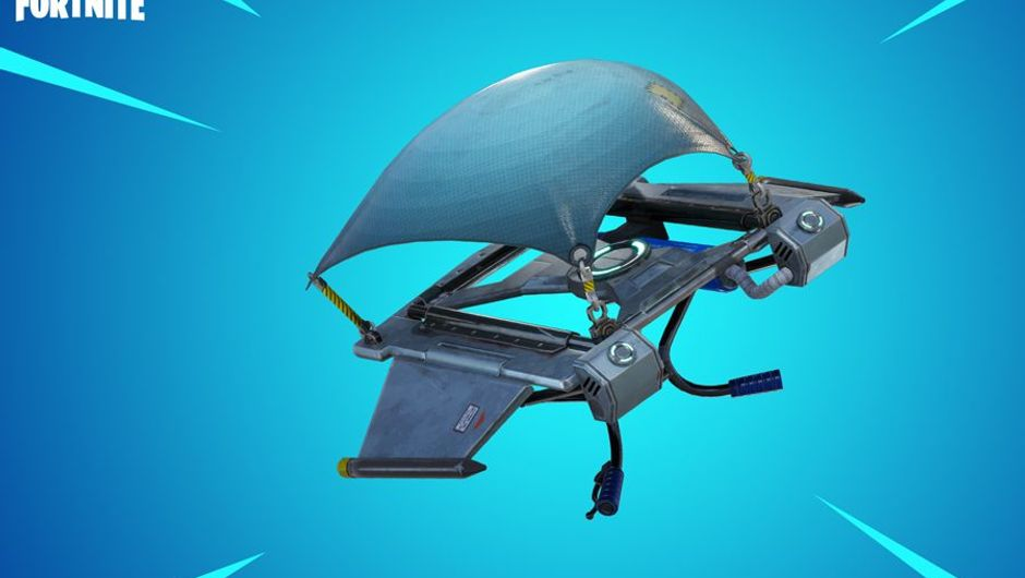 picture showing flying machine in Fortnite