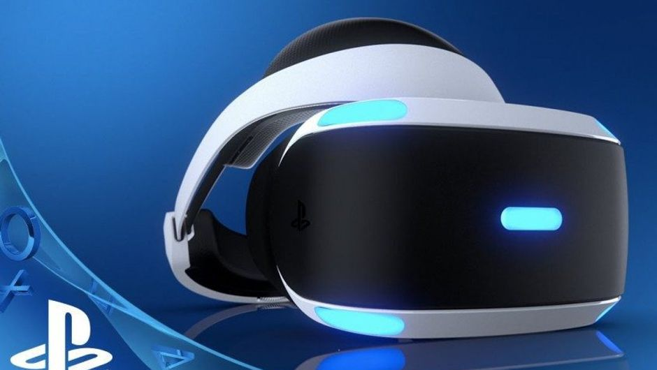 A VR headset for Sony PlayStation 4. It's abbreviated as PSVR.