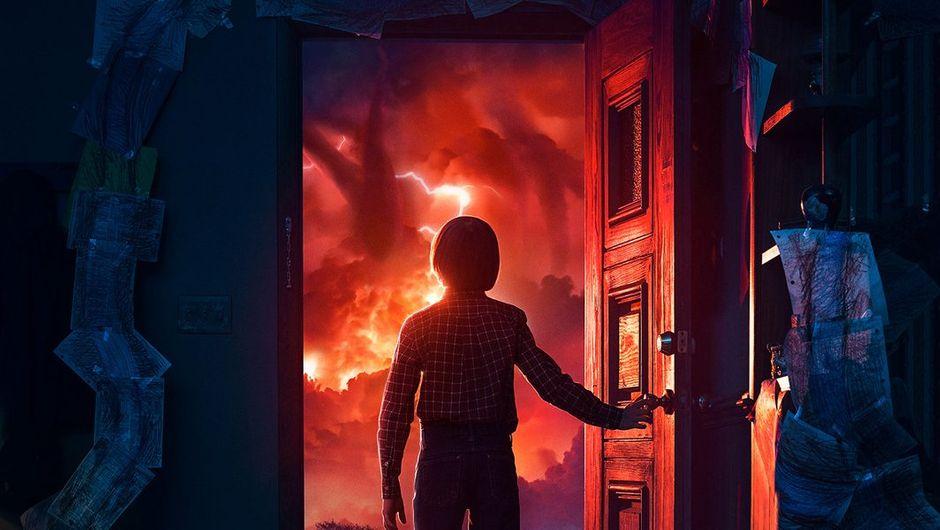 Poster for Netflix show Stranger Things