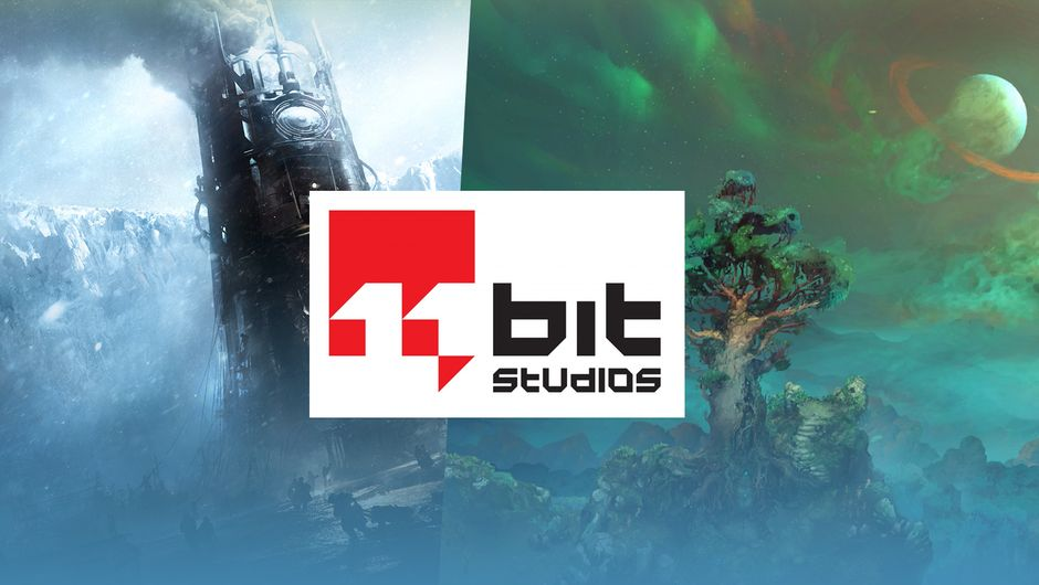 11 Bit Studios logo on frostpunk and children of morta background