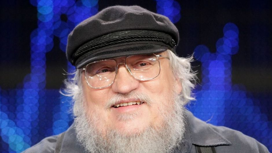 picture showing game of thrones creator george r.r martin