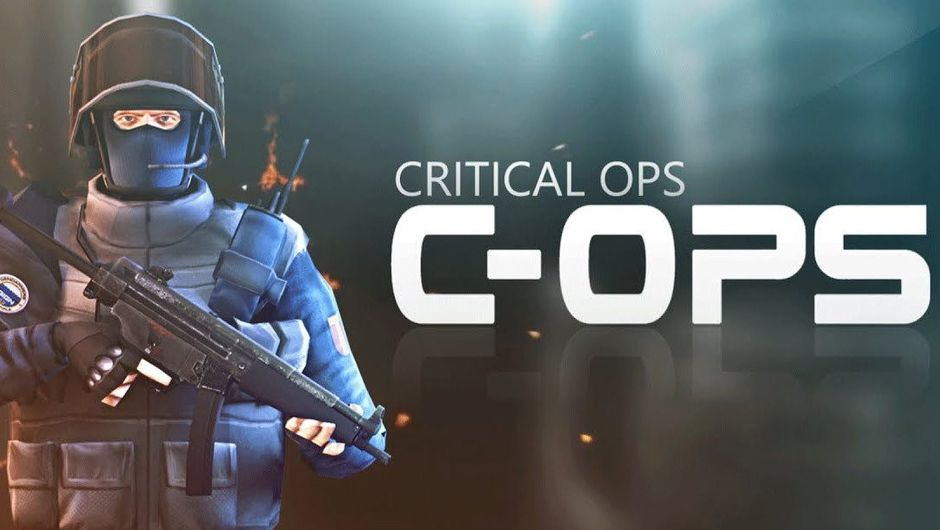 Critical Ops wallpaper showing a GIGN operative holding an MP-5 submachinegun