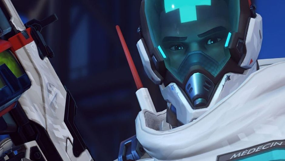 Picture of Baptiste's new skin in Overwatch