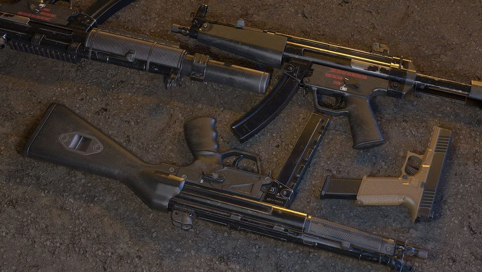 Picture of the new weapons in Insurgency Sandstorm
