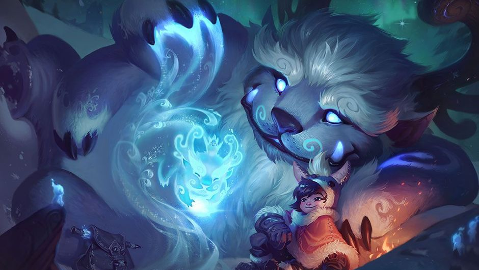 Splash art for Nunu & Willump after the champion update