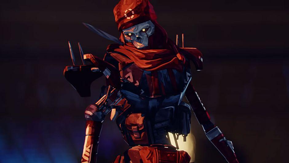 Apex Legends robotic character Revenant