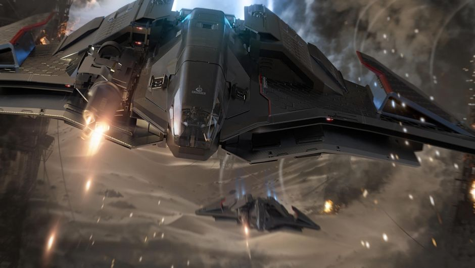 Star Citizen's Ares spacecraft