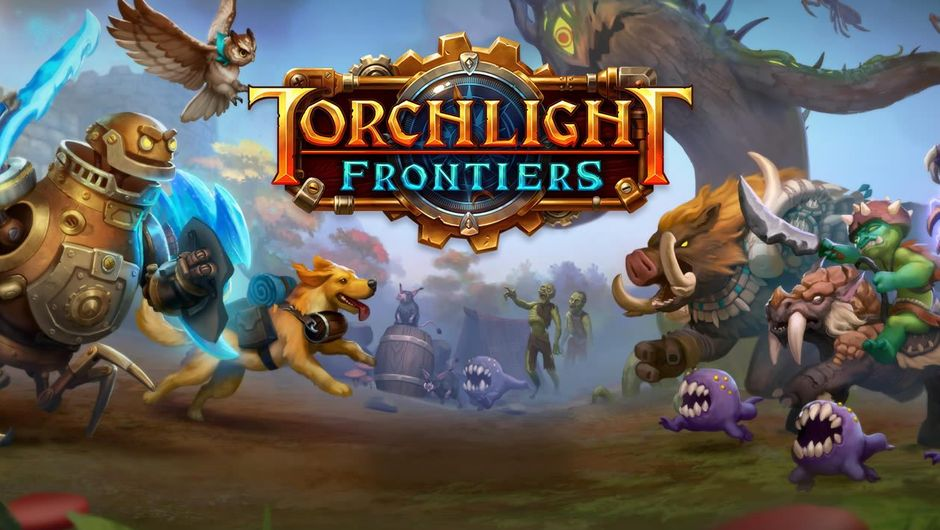Poster for Arc Games' upcoming MMO Torchlight Frontiers
