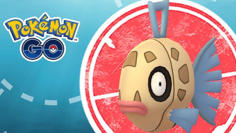 Feebas, water-type Pokemon from Pokemon GO