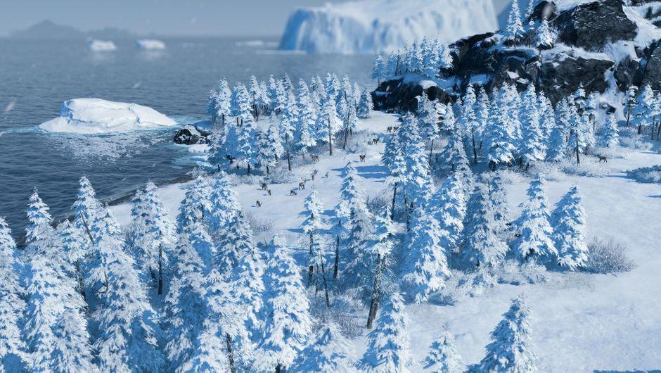 Anno 1800 - The Passage DLC aerial image
