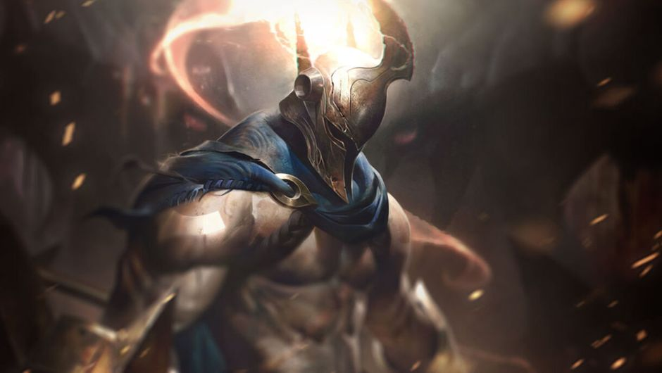 Picture of League of Legends champion Pantheon