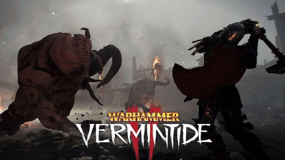 Warhammer: Vermintide 2 playable character hacking through enemies