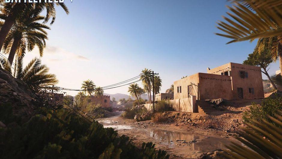 Battlefield V's new map Al Sundan