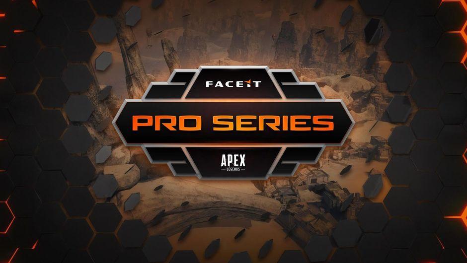 FaceIt Pro Series poster for Apex Legends esports tournament