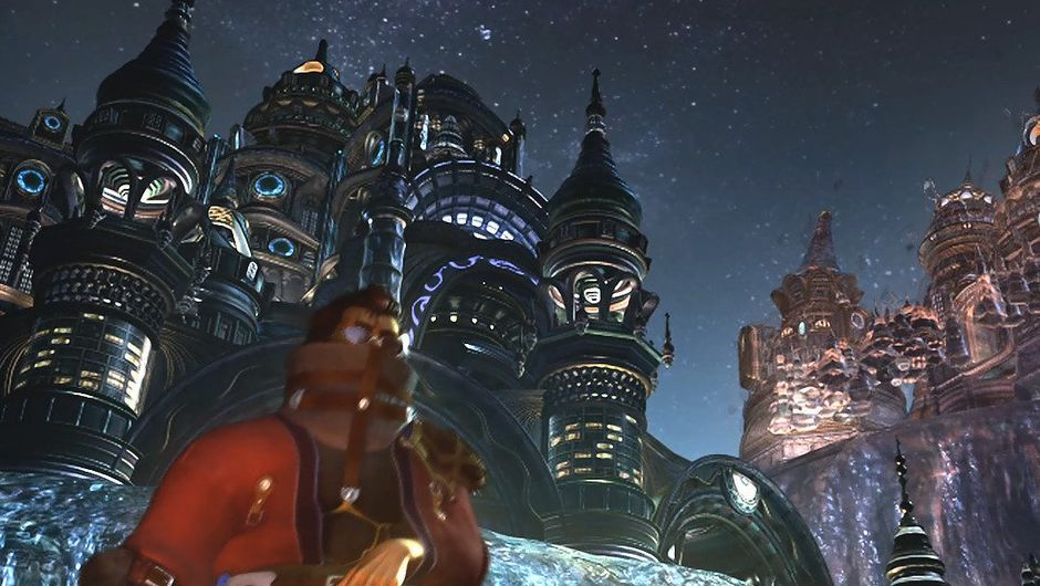 Picture of a castle in Final Fantasy X