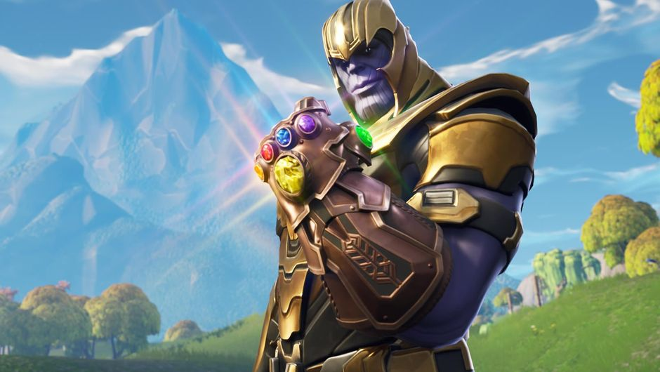 Latest addition to Fortnite: Battle Royale, Marvel's Thanos