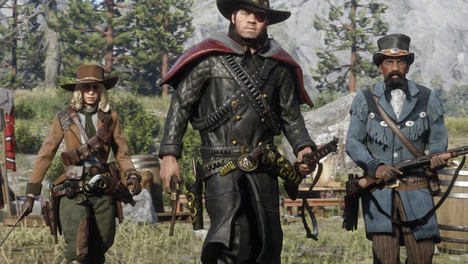Red Dead Online's new character roles
