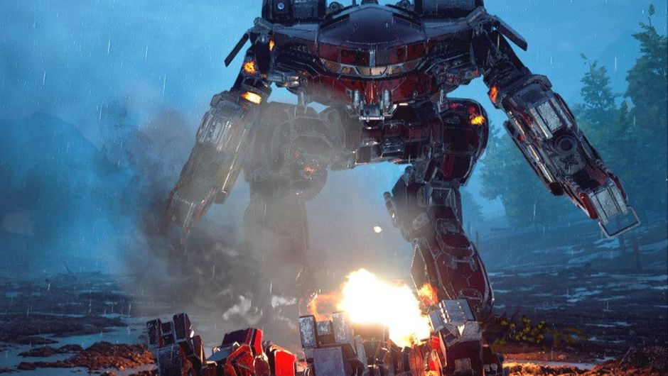 picture showing giant mech