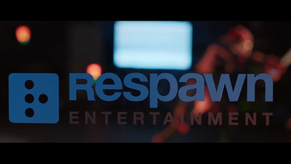 Screenshot of a frame in a video showing Respawn Entertainment's logo