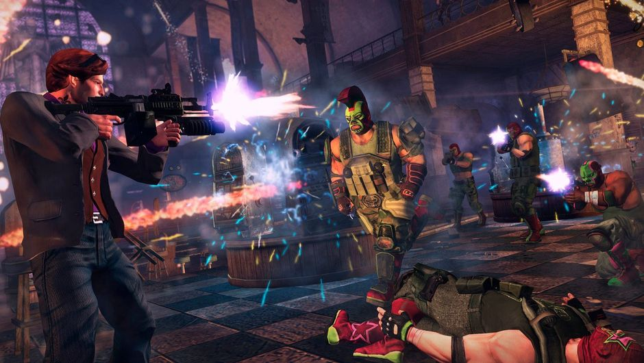 Promotional screenshot from Saints Row The Third