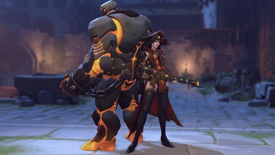 Overwatch - Warlock Ashe
