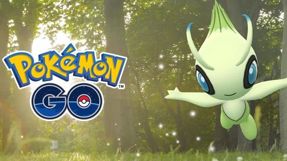 Poster for Pokemon GO event with new mythical Pokemon Celebi