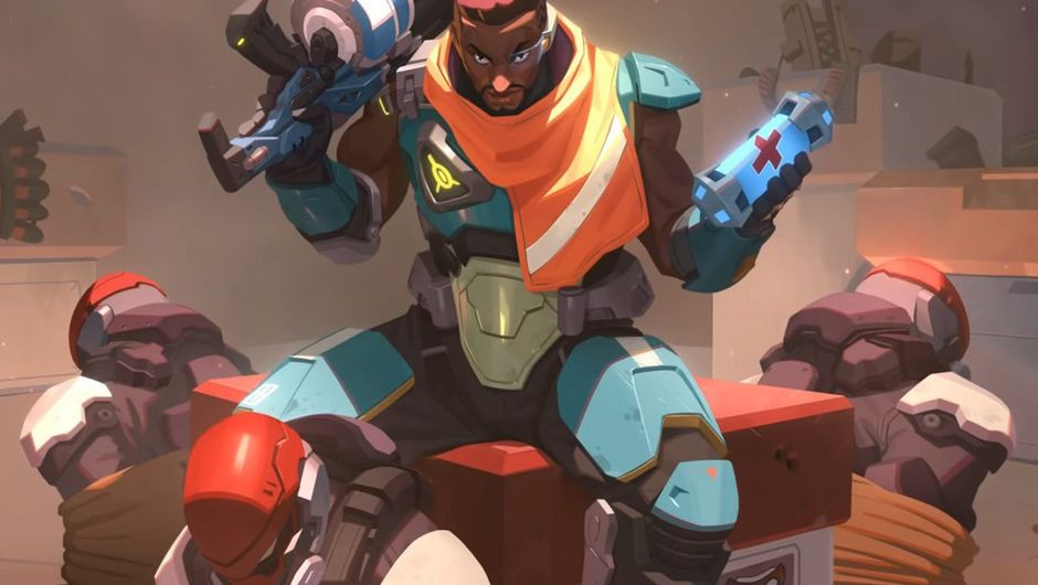 picture showing character from overwatch